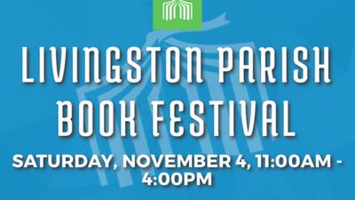 Nettye Johnson at Livingston Parish Book Festival