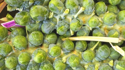 {Recipes} Beautiful Brussels Sprouts