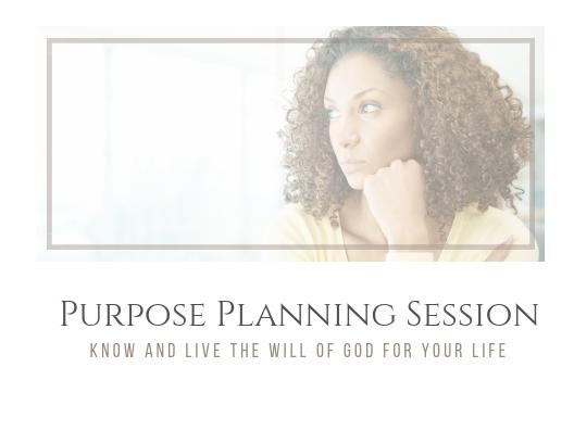 Purpose Planning Session