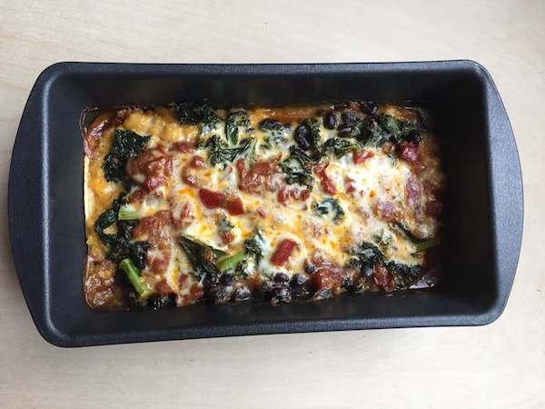 NJ Veggie Mexican Lasagna 1