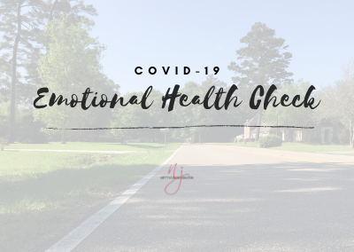 COVID-19 Emotional Health Check – Have you cried yet?